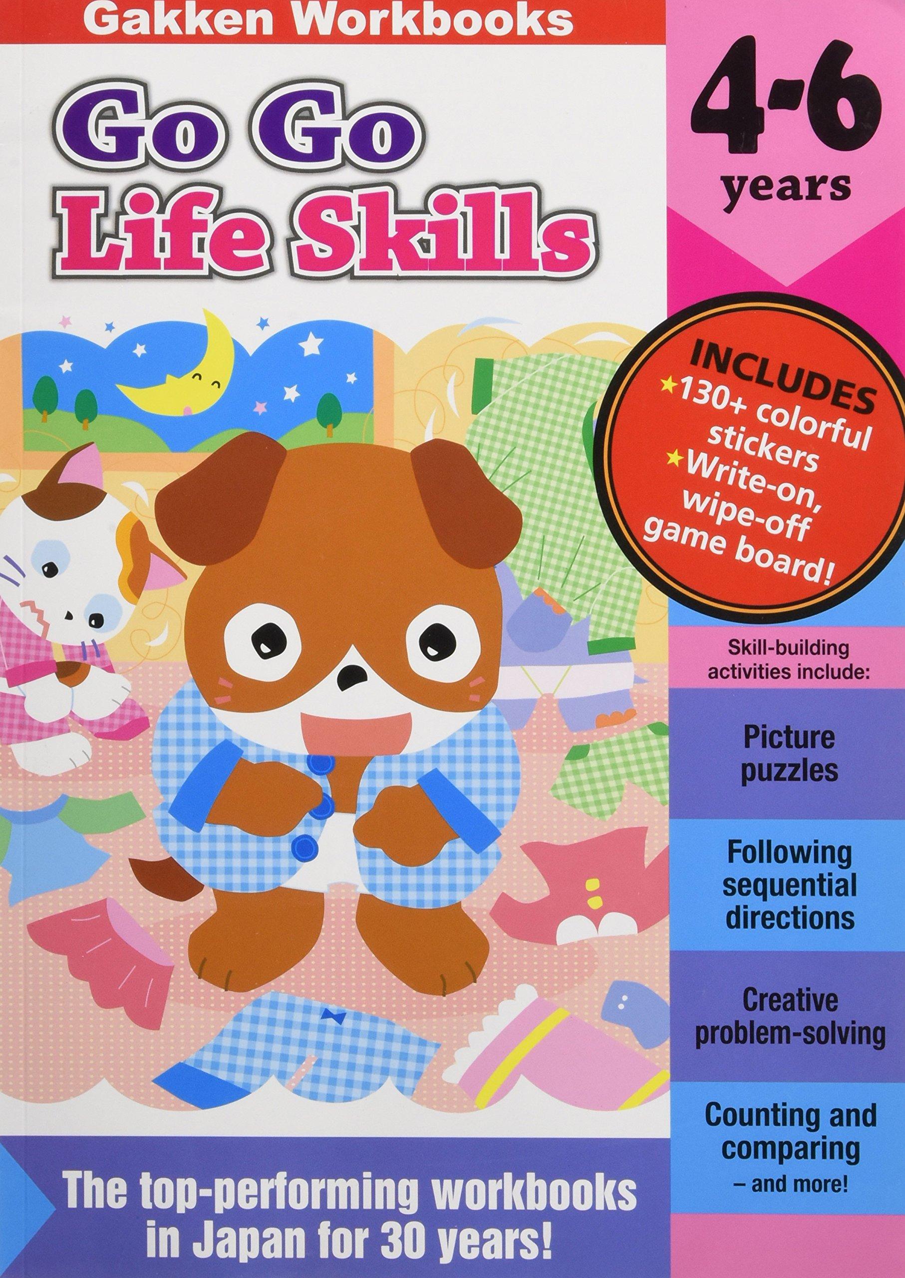 Read Online Go Go Life Skills 4-6 (GakkenWorkbooks) PDF