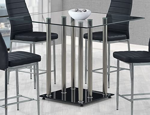 Global Furniture Bar Table, Black