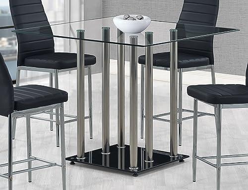 Global Furniture Bar Table, Black