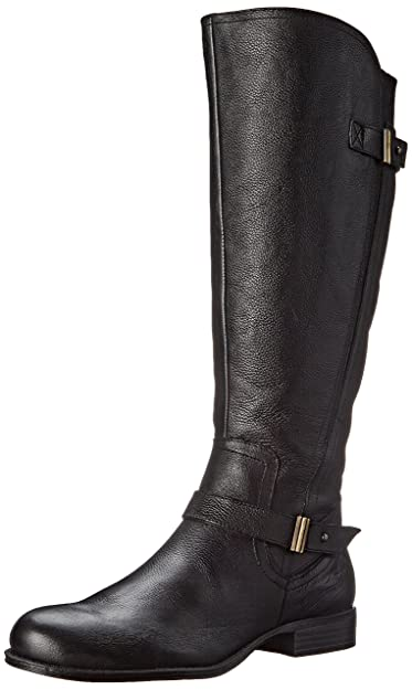 Naturalizer Women's Joan Riding Boot, Black, ...