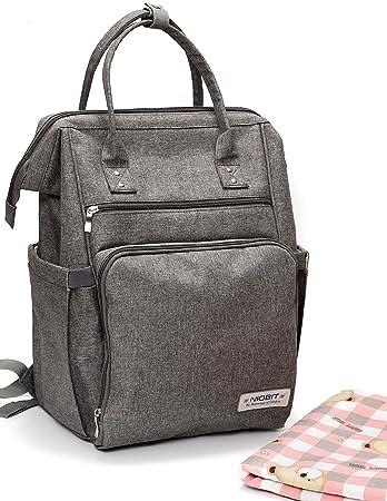 Amazon.com: NioBit Mochila para pañales, bolsa de pañales ...