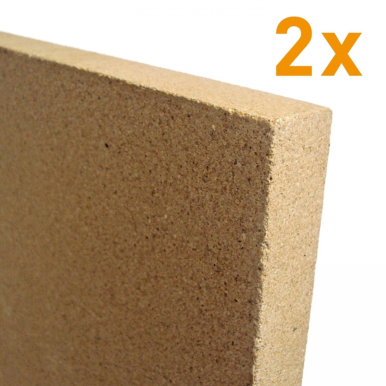 Raik V2-30-2 x 2x 30mm Vermiculite Platte 400 x 600 mm