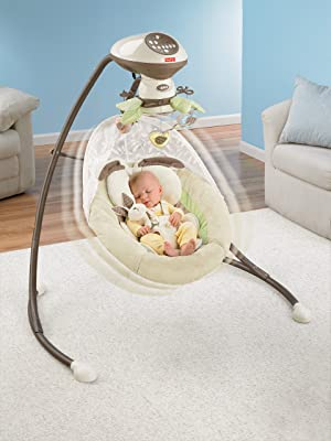 Fisher Price Snugabunny Cradle 'N Swing