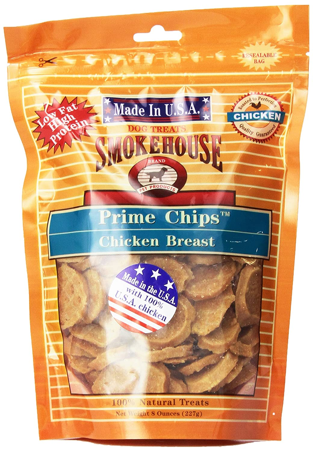 Smokehouse USA Prime Chips Chicken Dog Treat