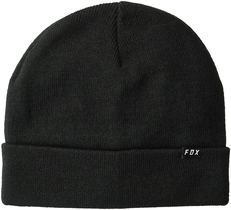b0bc510f2 Fox Men's Machinist Beanie Hat, Black, One Size: Amazon.co.uk: Clothing