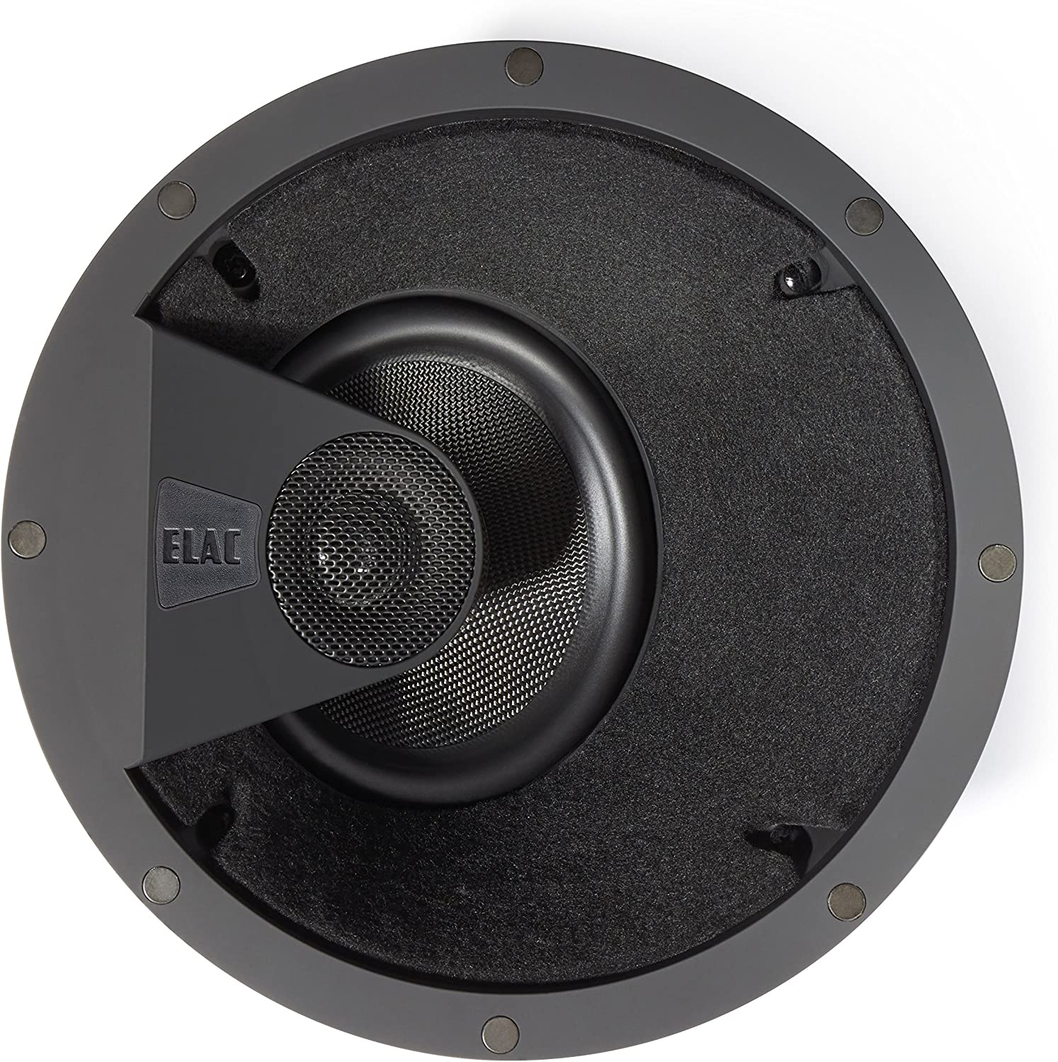 Elac - Debut IC-DT61-W Custom in-Ceiling Home Theater Speaker (Ea)