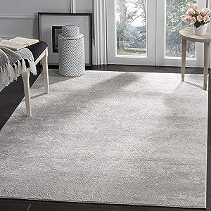 Safavieh Princeton Collection PRN715G Vintage Grey and Beige Distressed Area Rug (9' x 12')