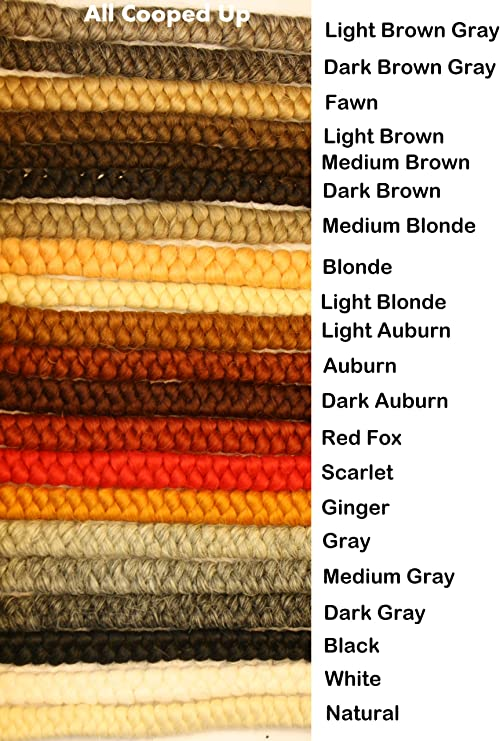 False Beard or Mustache Dark Brown Color for Doll Making or Theatrical Uses Crepe Wool Hair