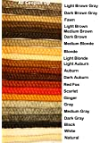 Crepe Wool Hair- Ginger Color for Doll Making or Theatrical Uses (False Beard or Mustache)