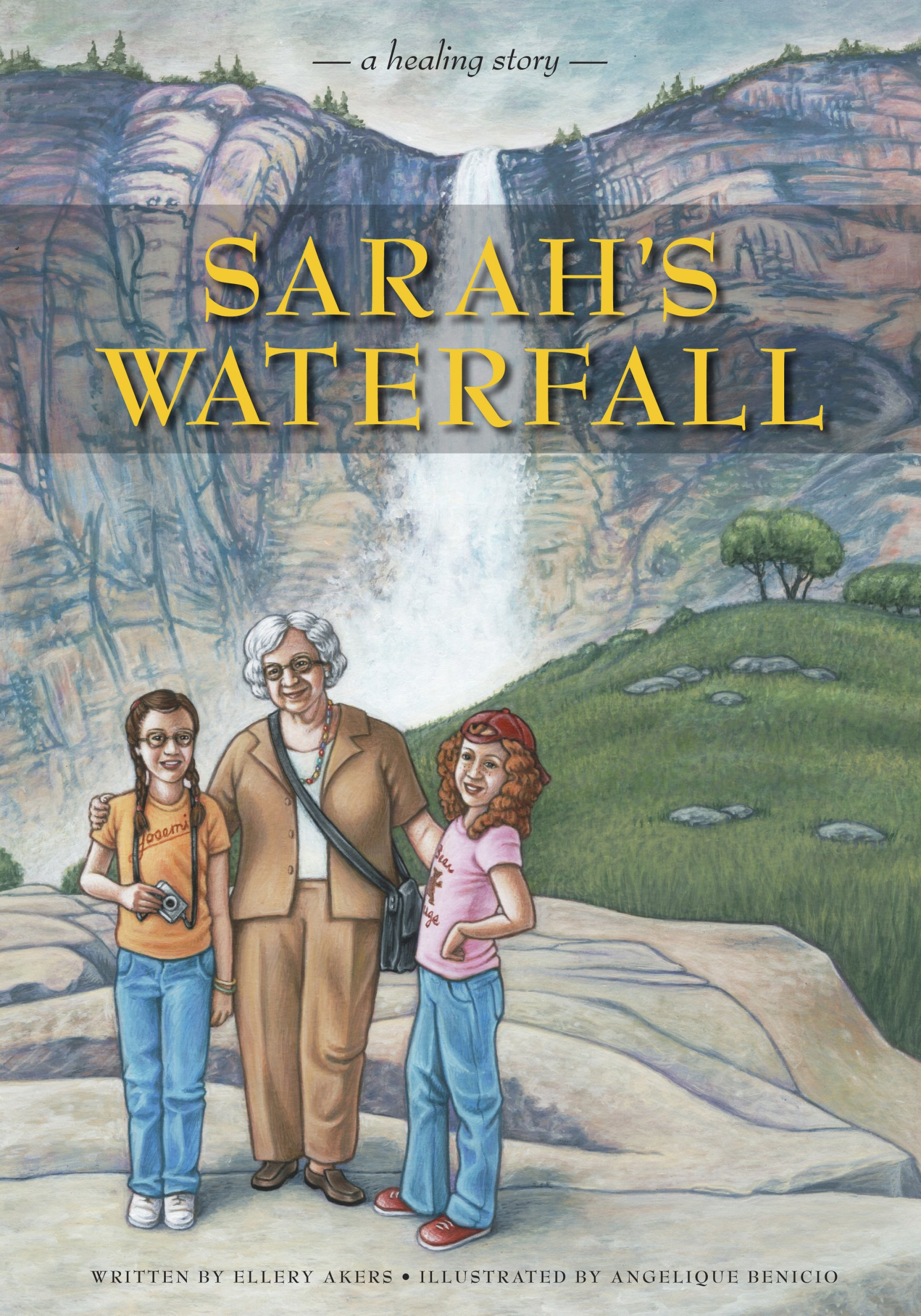 Download Sarah's Waterfall: A Healing Story about Sexual Abuse PDF