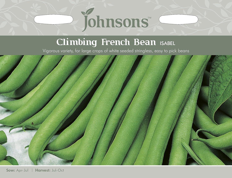Johnsons UK/JO/PB Climbing Bean Isabel Johnsons Seeds