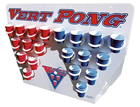 Vert Pong Vertical Beer Pong on Steroids Faster and More Fun