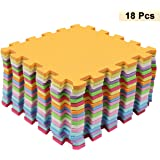 Kicode 9 PCS Puzzle Colchoneta de ejercicio de juegos para ...