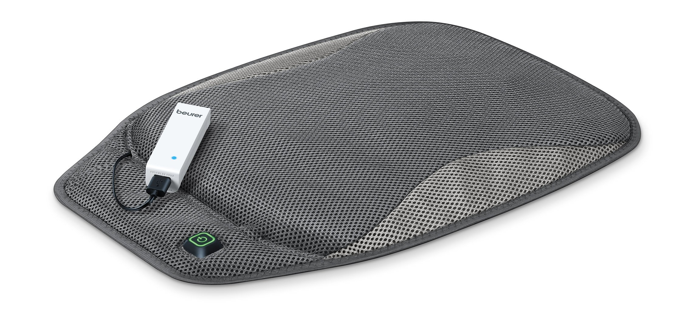 Beurer Portable Wireless Heated Seat Cushion with Convenient Storage Bag, Rechargeable, Durable for Indoor & Outdoor Use, Hk47 by Beurer