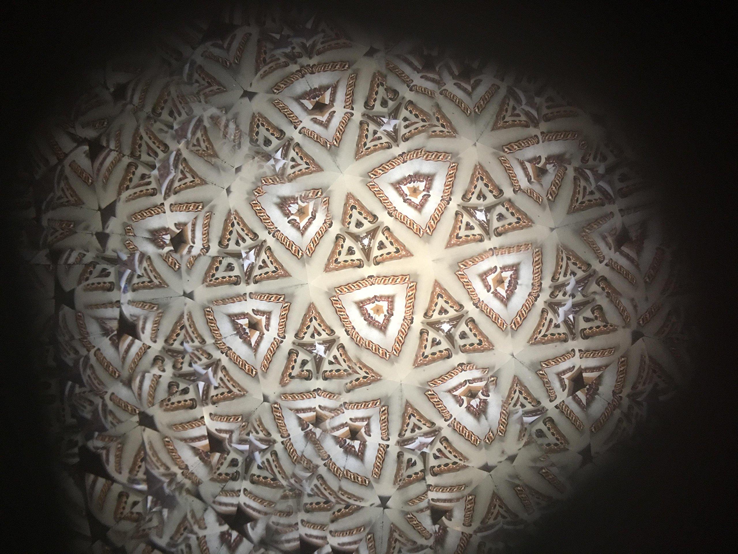 N & J Kaleidoscope Teleidoscope in Padauk Wood, 4 1/2 Inch, Inlaid Woods of Padauk, Ebony, Teak and Jalneem by N & J (Image #8)