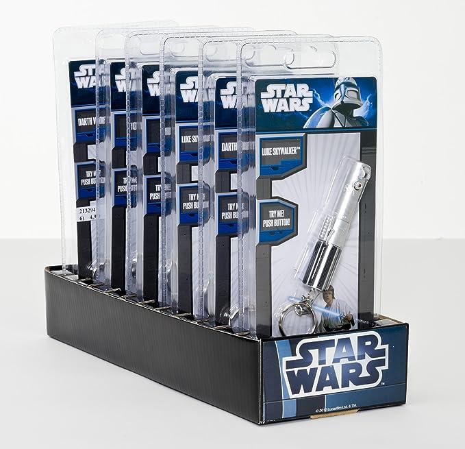 Amazon.com: Star Wars Darth Vader Sable láser linterna con ...