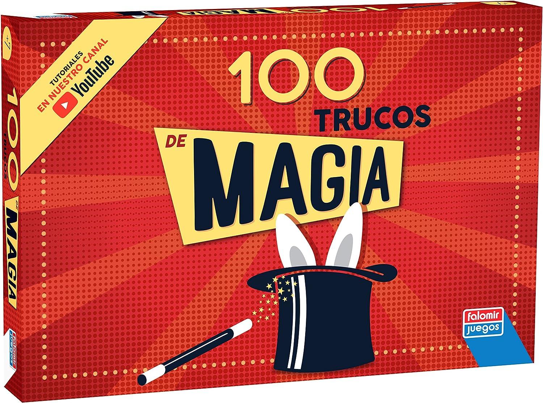 Falomir Caja 100 Trucos, Juego de Mesa, Magia (1060): Amazon.es: Juguetes y juegos
