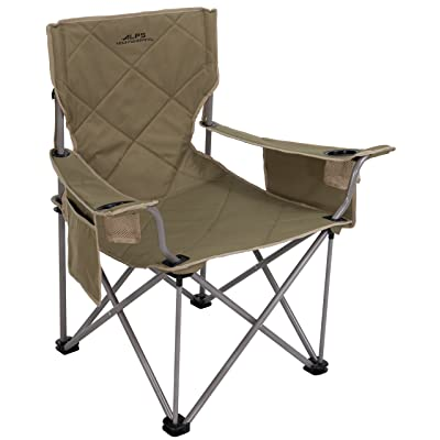 ALPS Mountaineering King Kong Chair, Khaki, 38 x 20 x 38-Inch (8140314) : Folding Chairs : Sports & Outdoors