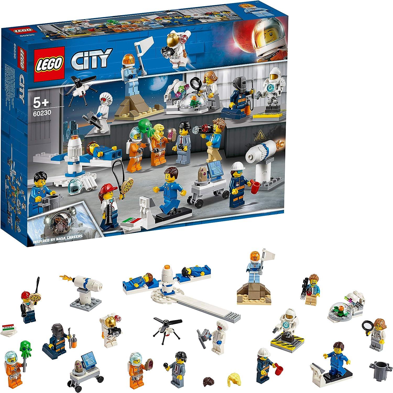 レゴ(LEGO) シティ ミニフィグセットー宇宙探査隊と開発者たち 60230