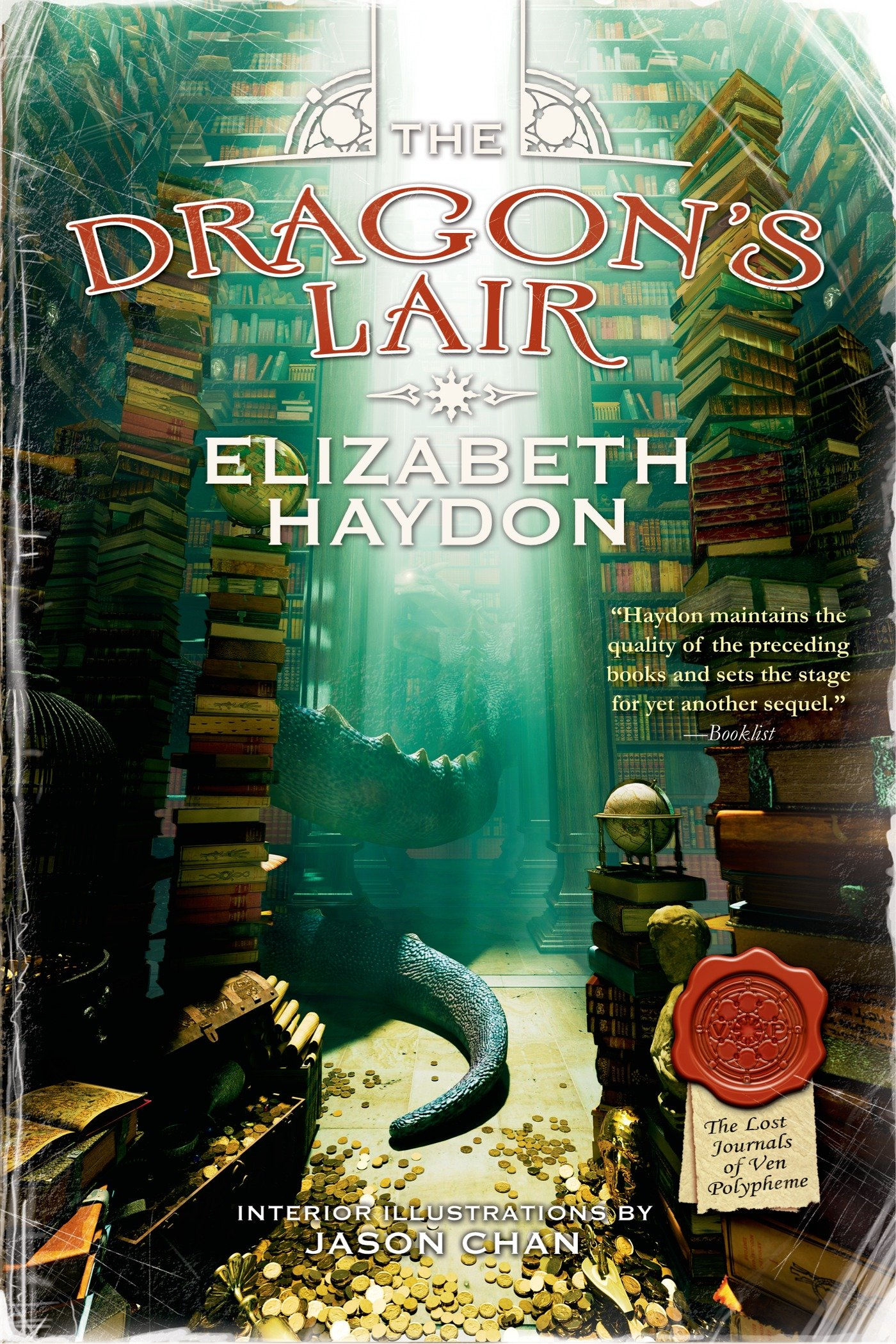 The Dragon's Lair (The Lost Journals of Ven Polypheme