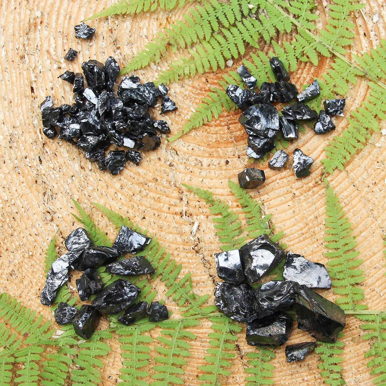 1 lb para la desintoxicación y la curación ES78 Elite Shungite Piedras Set 450 gramos