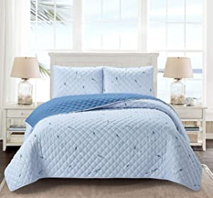 Go-U Seaside Resort Universal Home Fashions Quilt, Twin, Seagull
