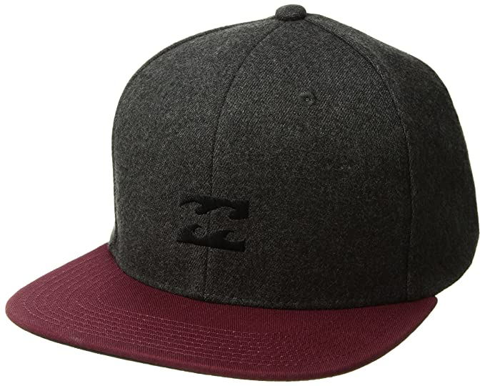 Billabong Hombres All Day Heather Snapback Gorra de béisbol - Gris -: Amazon.es: Ropa y accesorios