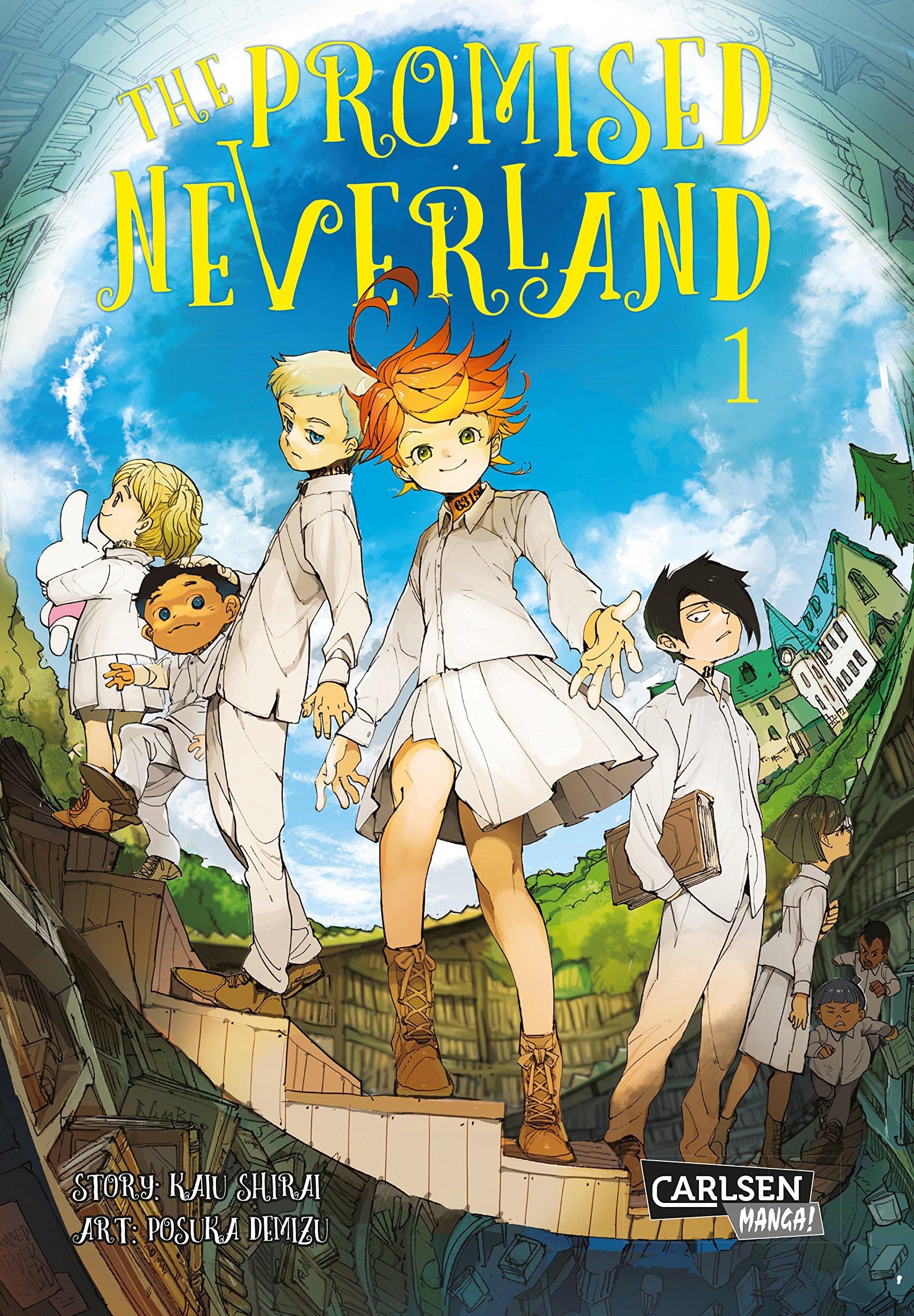 The Promised Neverland 1 Taschenbuch – 20. März 2018 Kaiu Shirai Posuka Demizu Luise Steggewentz Carlsen