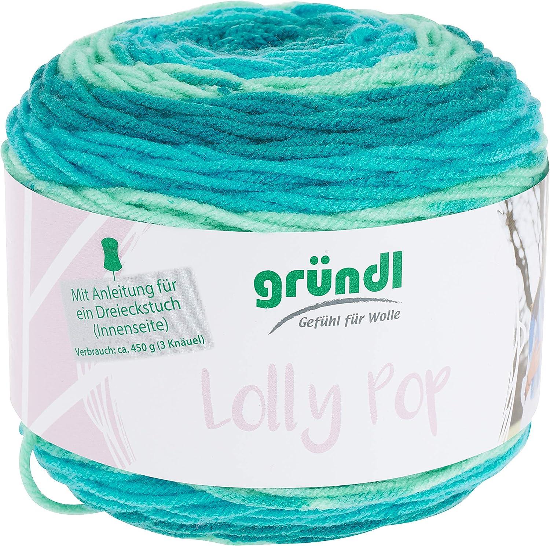 ca Gr/ündl Filato Blu Multicolore 150 m