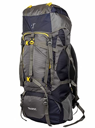 10849983539df TRAWOC 60L Travel Backpack for Outdoor Sport Camp Hiking Trekking ...