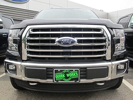 2015 Ford F150 Grill >> 2015 2016 Ford F 150 Chrome 5 Five Bar Radiator Grille Oem New Fl3z 8200 Ea