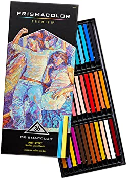 Prismacolor Premier Art Stix Woodless 36 Colored Pencils