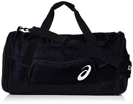 68e51c1322 Amazon.com: ASICS Edge Ii Medium Duffle, Black/Black, One Size ...