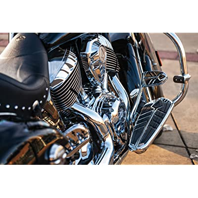 Kuryakyn 5654 Motorcycle Foot Control: Spear Brake Pedal Pad for 2014-19 Indian Motorcycles, Chrome: Automotive [5Bkhe2008482]
