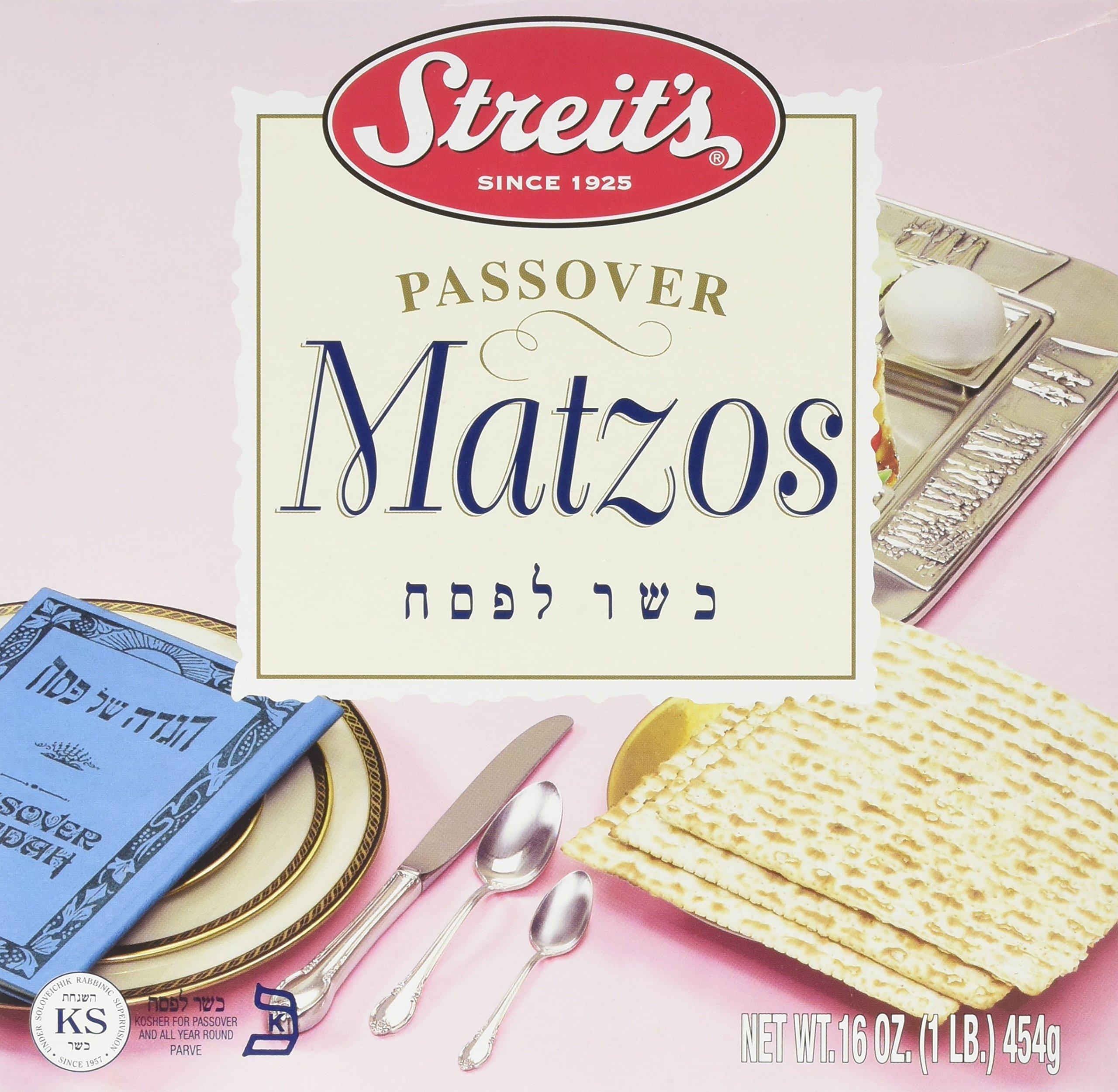 Streit's Passover Matzos, 16 oz by Streit's