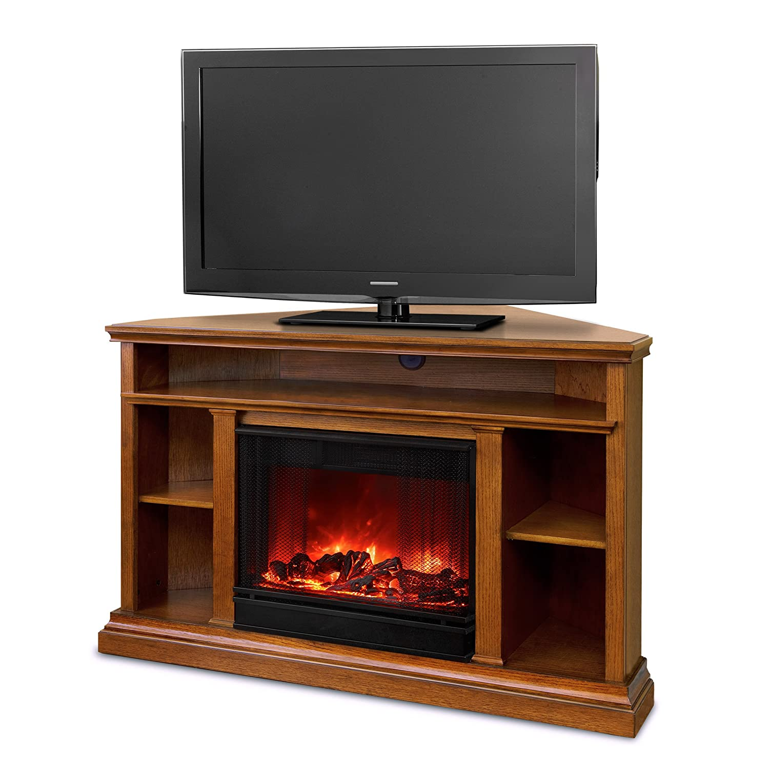 Amazon.com: Real Flame 3750E-O Churchill Electric Fireplace ...