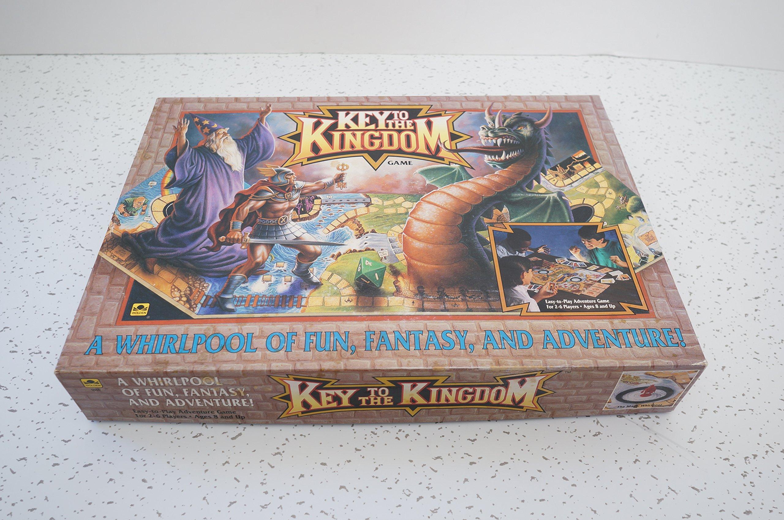 Key to the Kingdom Adventure Board Game - 1992