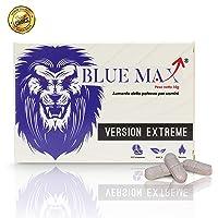 Blue Max® - Extreme Da 200 Milligram - Alterazione Dei Livelli Di Testosterone - Booster Naturale Anche Per Giovani Per Risultati Eccellenti - 10 Pillole