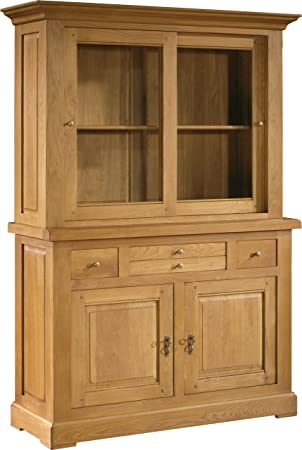 buffet vaisselier cuisine armoire parisienne semivitre by. Black Bedroom Furniture Sets. Home Design Ideas