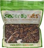 Sincerely Nuts Raw Pecans No Shell - Two (2) Lb. Bag - Eaten Fresh -Remarkably Delicious & Cute-Looking - Rich in Healthy Nutrients - Kosher
