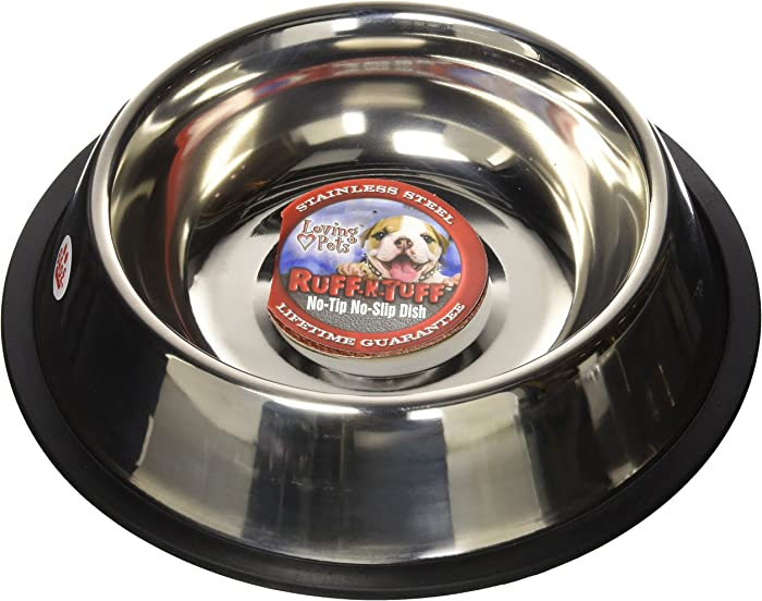 Loving Pets Standard No-Tip Dog Bowl