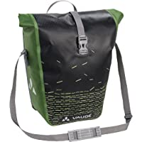 VAUDE Aqua Back Print Single Alforja, Unisex Adulto, Negro (Black/Green), Talla Única