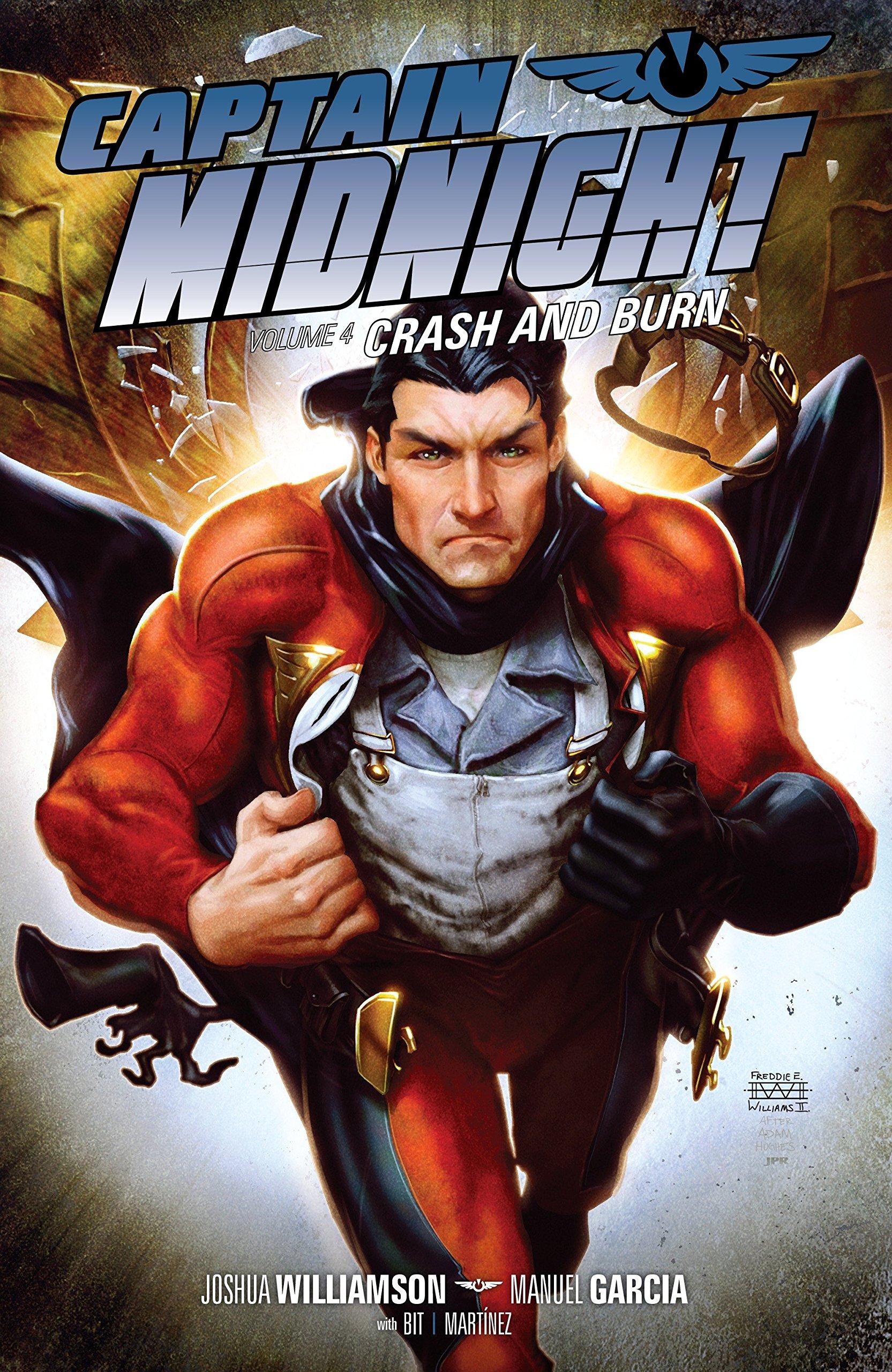 Captain Midnight Volume 4: Crash and Burn by Dark Horse Books