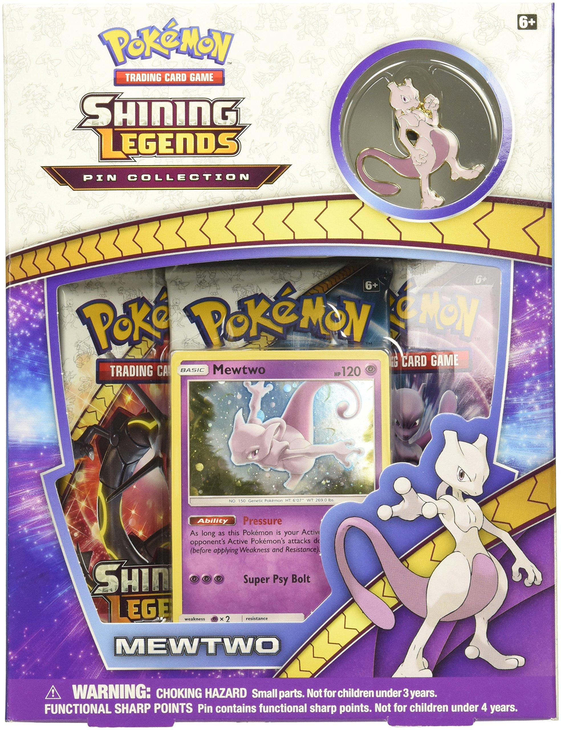 Pokémon Cards POKSM35PINBX SM3.5 Shining Legends Mewtwo Pin Box by Pokemon
