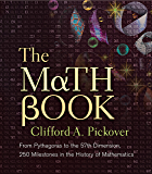The Math Book: From Pythagoras to the 57th Dimension, 250 Milestones in the History of Mathematics (Sterling Milestones)