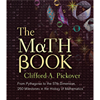 The Math Book: From Pythagoras to the 57th Dimension, 250 Milestones in the History of Mathematics (Sterling Milestones…