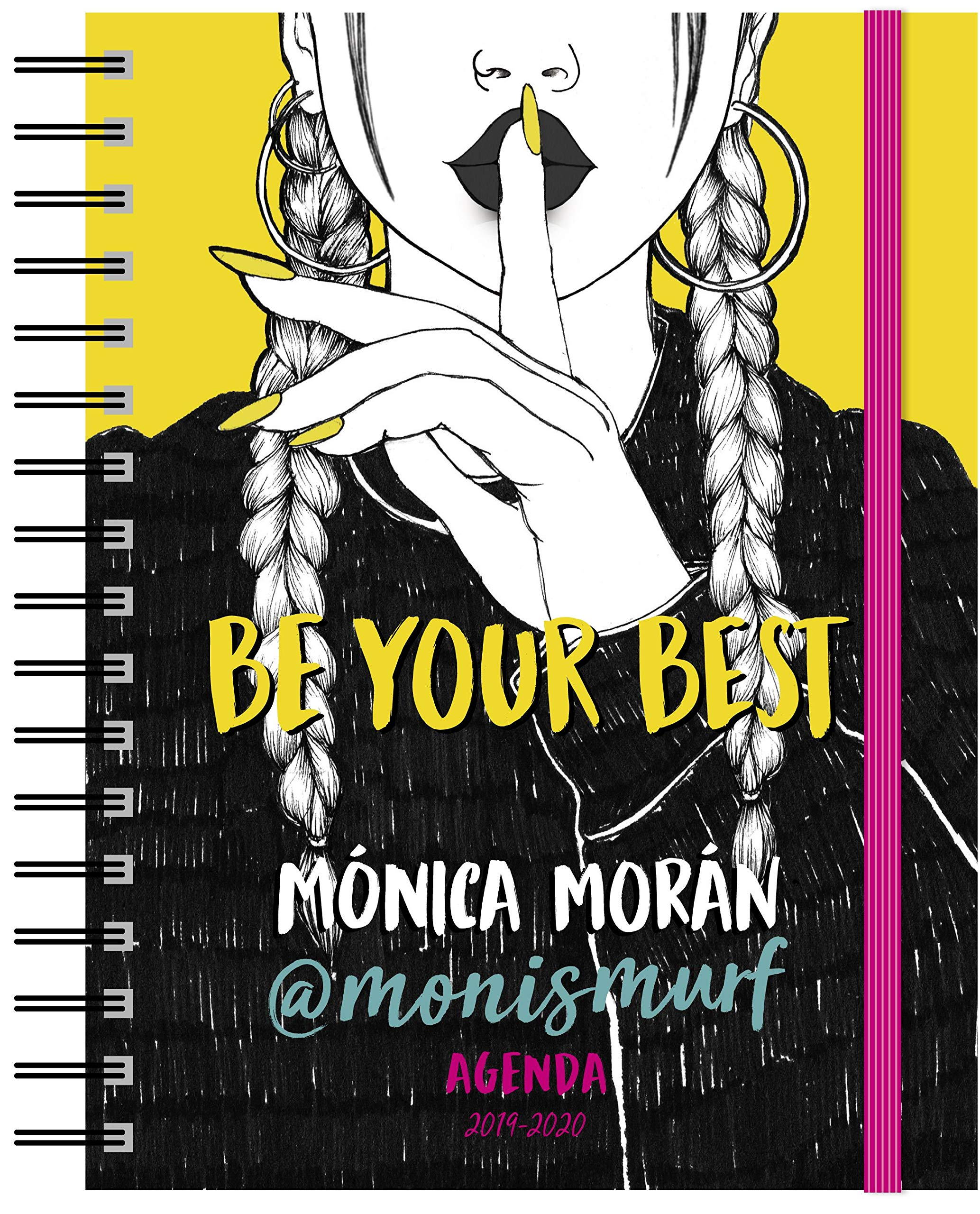Agenda: Be your best. Agenda 2019-2020 Youtubers infantiles: Amazon.es:  Mónica Morán, Ana Jarén: Libros