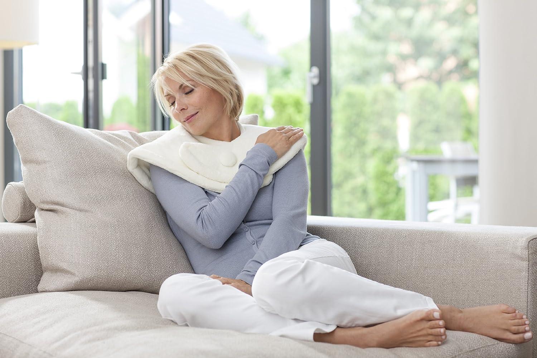Medisana HP-620 - Almohadilla para cuello y hombros, calor turbo con 4 niveles de temperatura regulables: Amazon.es: Salud y cuidado personal