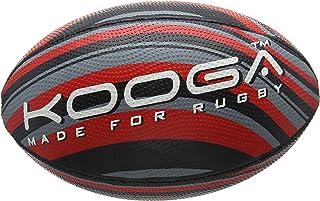 Kooga Unisexe Wave Grip boule 4, Noir/rouge/gris, taille 4 21613-282-004