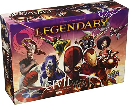 ADC Blackfire Entertainment UD86036 Legendary: A Marvel Deck Building Game - Juego de ampliación para la Vida Civil (en inglés): Amazon.es: Juguetes y juegos